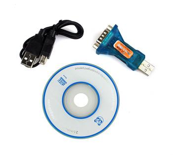 20pcs USB 2.0 to 9 pin RS232 Com Port Serial Convert Adapter D0159L New Alishow
