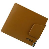 2013 fashion male wallet male short design genuine leather wallet for men