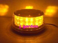 Car styling Traffic light Alarm warning Police fire Warning light New 32 LED Waterproof Magnets Strobe Amber Light K32-2