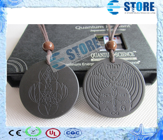 New Arrival Quantum Scalar Energy Pendants Angel Spiritual Design with Authenticity Ion Card, Gift box, 2 Pcs/lot Free Shipping(China (Mainland))