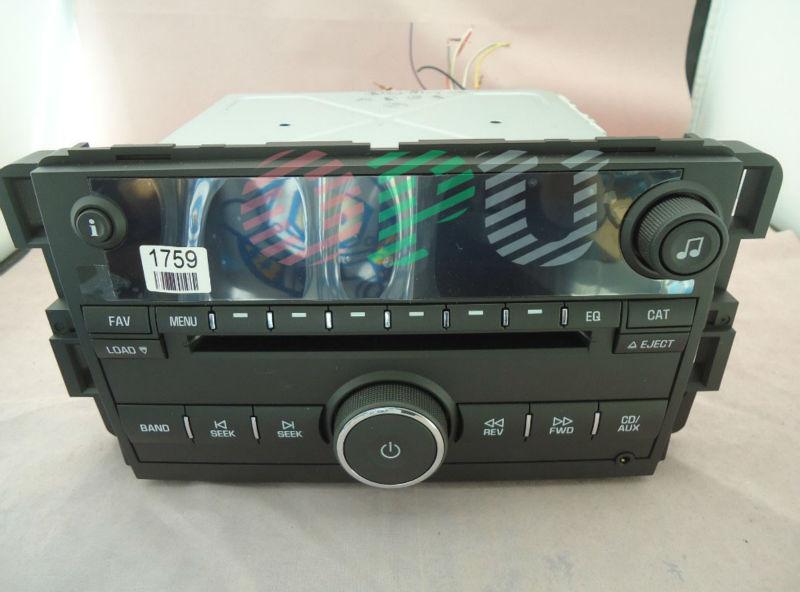 Fujitsu ten 6 Disc CD changer radio for GM 07 MONTE CAELO/IMPALA AFS/6CD/MP3 car tuner sound systems(China (Mainland))