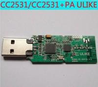 2pcs lot cc2531 + cc2591 USB Dongle zigbee 2km wireless module+Free shipping