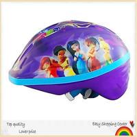 Hot sale!GOLEX lowest price! Angel children's best love sports helmet,child skating&bicycle helmet purple genius. free shipping!