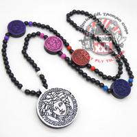 Hip Hop Jewelry Headcounts fashion hiphop wood necklace goodwood medusa good wood chain