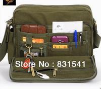 New driftwood canvas bag han edition tide male single shoulder bag, leisure bag, IPAD men's bagsFemale bag