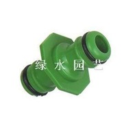 """garden 1/2"""" 3/4"""" hose quick connector two way hose splitter watering pipe connector 1pc free shipping"""