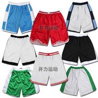 Basketball pants basketball sports shorts breathable mesh double layer fabric 5 shorts