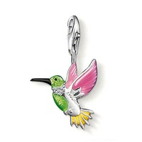 TP264(Min.Order $15)Wholesale 2013 New Items,Thomas Style,DIY Floating Lockets DHummingbird Charms Pendants For Jewelry Making