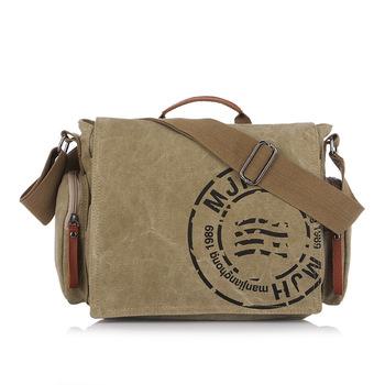 Wholesale 2013 new cotton canvas bag man bag lady tide Korean version of casual fashion shoulder bag Messenger bag