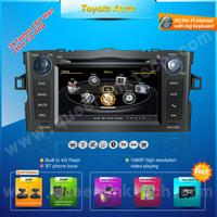 3G 7'' Toyota Auris Car DVD Player,AutoRadio,GPS,Navi,Multimedia,Radio,Ipod,DVR,Free camera+Free shipping+Free map