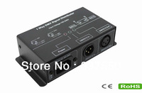 1Way DMX Signal Distributor/Led DMX512 amplifier/DMX Signal Repeater used for amplifying DMX512 digital lighting control signal