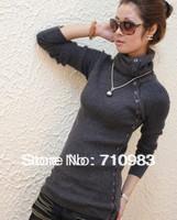 Free shipping fashion women's thermal sweater shirt thickening sweater &hot sale women'e sweater
