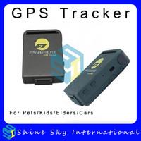 Hot Sale GPS Tracker TK106 Dual Positioning Mode Vibration Alarm GPS Tracker Free Shipping