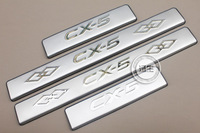 New Stainless Door Sill Scuff Plate For Mazda CX-5 CX5 CX 5