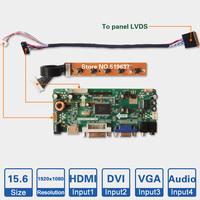 "15.6"" inch 1920*1080 LED Backlight Laptop LCD screen controller board kit DIY monitor driver board"