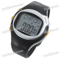 Digital Pulse Rate Calories Counter Timer Watch with Alarm(1*CR2032)