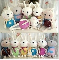 20CM tiramisu bunny rabbit plush toys wholesale special wedding doll factory direct lowest whole network Christmas gift