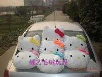 40 * 40CM KT hello kitty pillow plush pillow cushion backrest backrest Christmas Special Vehicle