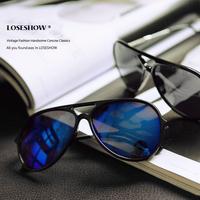 Large vintage sunglasses male sunglasses male big frame sunglasses star style cool fashion gradient color glasses