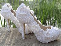 Туфли на высоком каблуке &