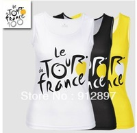 hot sale!2013 tour de france  Woman Sleeveless Cycling Jersey cycling vest/bike clothes/bicycle jersey