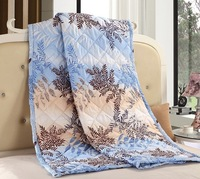 High quality tree printed double bed quilt in summer for queen size bedding