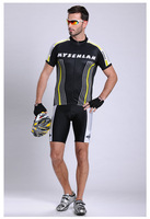 Free shipping top grade  Short Sleeve Cycling Jersey+pants/ Bike Wear Size S - XXXL,Plus Size,CoolDry fabric Quick Dry 1039
