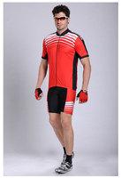 Free shipping 2013 Short Sleeve Cycling Jersey+pants/ Bike Wear shirt Size S - XXXL,Plus Size Quick Dry 1037
