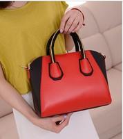 2013 colorant match fashion handbag one shoulder cross-body women's handbag bag casual bag