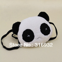 I2 2013 new plush panda backpack Messenger bag
