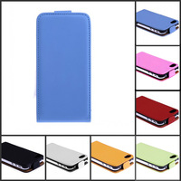 free shipping,High Quality Leather Flip Skin Case Cover For iphone 4 4G 4S ,100pcs/lot