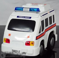 Plain WARRIOR car 120 ambulance fs031