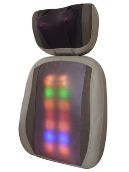 Open back sh868b-7 malaxation heated massage device neck can lift massage device