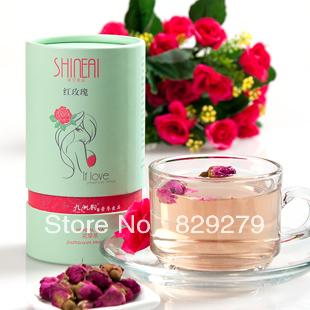 Green organic herbal tea tea natural plant moisturizing beauty adjust dried roses beauty products flower tea