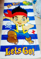 Free Shipping!40pcs/lot! Fashion Cartoon Children Bath Towel 100% Cotton Beach Towel for Kids (150cm*75cm ) G2920 on Sale
