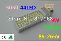 LED Bulb 220v 9W 5050 SMD 44 LED e27 Corn Light Lamp  Cool White/Warm White