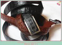 Free shipping Fashion personality crocodile skin strap male belt ostrich skin strap sealskin strap