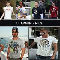 2014 New Retail CALIFORNIA TEE shirts men fashion TShirts PEDIDO CAMISETAS brasil T-Shirts male t shirts blouses short sleeve