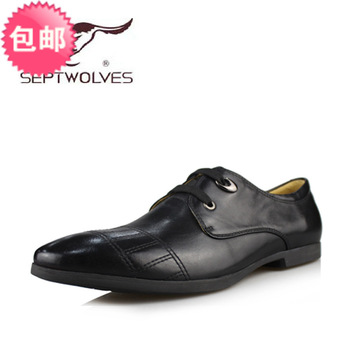 Septwolves men's 2013 lacing business casual single shoes 8131391049