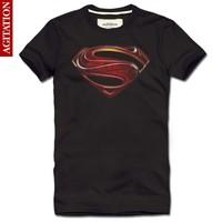 summer 2014 3D printed t shirt Superman Diamond  brand fitness men t shirt casual fashion designer clothing man camisas t-shirts
