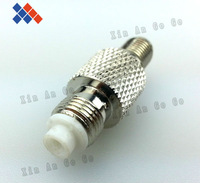 Wholesale 10pcs RF connector FME female to SMA female adapter Free shipping