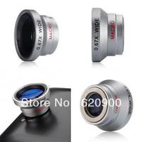 100% GUARANTEE Macro Lens +0.67 X Wide Angle Detachable for i Phone\4G\4S\ i Pod Phone Camera