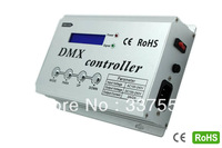 2014 New AC100-240V  High Voltage DMX Controller LCD Display 3 Channel Output RGB led strip DMX console Contorller