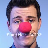 Hotsell free shipping Clown red sponge ball halloween props clown nose