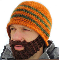 Beard Beanie Mustache Mask Face Warmer Ski Winter Hat Cap Gift Free Shipping