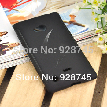 Lumia720 Silicone Cover Protective Soft TPU Back Anti-Skid Cases Wholesale 5PCS/LOTS in Stock Free Shipping