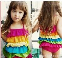 Free shipping kid's swimwear girl's swimwear body swimwear