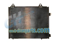 C & h qau condenser for land rover freelander radiator water tank