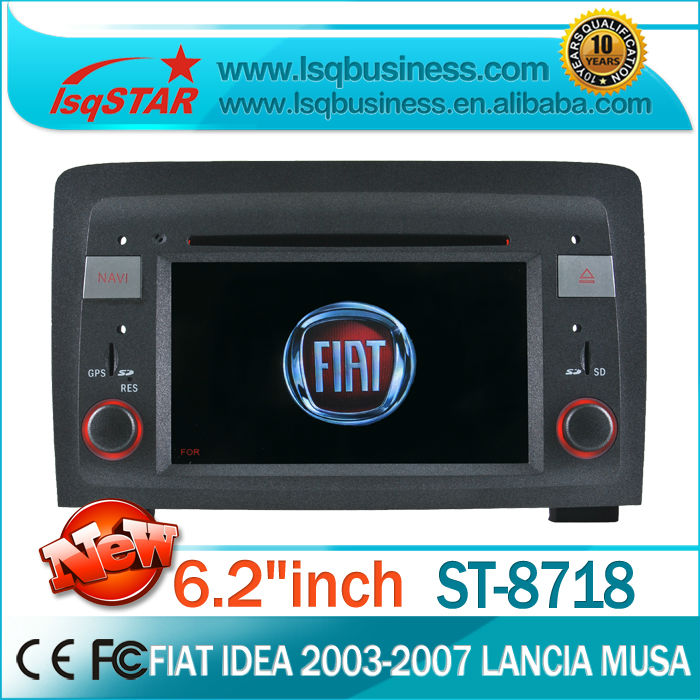 LSQ Star (2003-2007)Fiat idea car audio dvd with gps with GPS,A2DP BT,Radio RDS,DVD,IPOD,SD,2year warranty,Free shipping!(China (Mainland))
