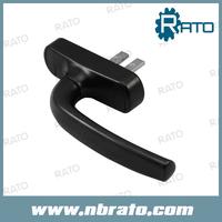Free Shipping (4pcs /lot) Black Casement Window Lock Handle